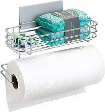 mDesign Kitchen Roll Holder - AFFIX Paper Towel