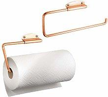 mDesign Kitchen Roll Holder - Set of 2 -