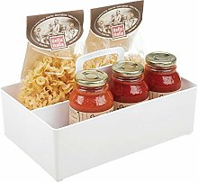 mDesign Kitchen Storage Box — Plastic Cleaning