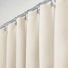 mDesign Luxury Shower Curtain – Bath and Shower