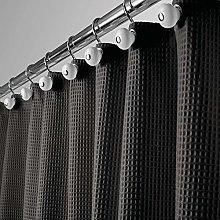 mDesign Luxury Shower Curtain – Cool Shower