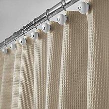 mDesign Luxury Shower Curtain – Modern Shower
