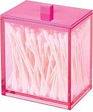 mDesign Modern Square Bathroom Vanity Countertop