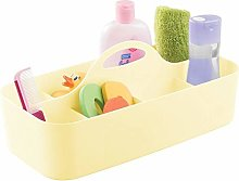 mDesign Nursery Storage Box with Handle — Extra