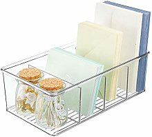 mDesign Office Storage Tray – Plastic Desk