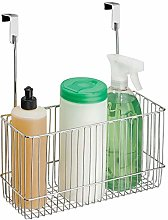mDesign Over-The-Cabinet Kitchen Storage Organiser