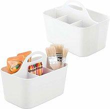 mDesign Practical Desk Organiser - Set of 2 -