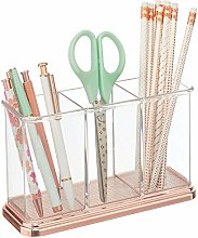 mDesign Practical Desk Tidy for Stationery and