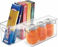 mDesign Practical Storage Boxes - Set of 2 -