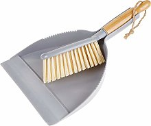 mDesign Set of 2 Dustpan and Brush –