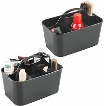 mDesign - Set of 2 – Shoe Care Product Box –