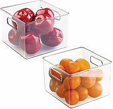 mDesign - Set of 2 - Small Kitchen Cupboards -