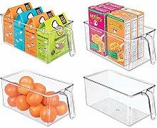mDesign Set of 4 Kitchen Cabinet Organiser -