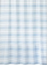 mDesign Shower Curtain — Cotton Privacy Curtain