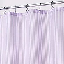 mDesign Shower Curtain — Privacy Curtain for