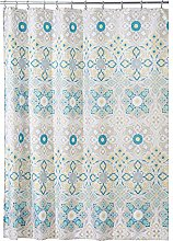 mDesign Shower Curtain – Bath and Shower Privacy