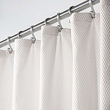 mDesign Shower Curtain – Cool Shower Curtain