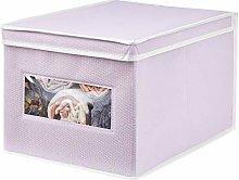 mDesign Storage Box – Practical Wardrobe