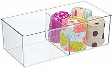 mDesign Storage Box with 2 Compartments –