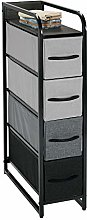 mDesign Wardrobe Organiser – Storage System with