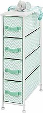 mDesign Wardrobe Organiser - Storage System with 4