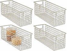 mDesign Wire Basket - Flexible Wire Storage