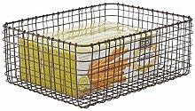 mDesign Wire Storage Basket — Practical Wire