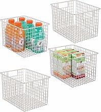 mDesign X-Large Household Wire Storage Organizer
