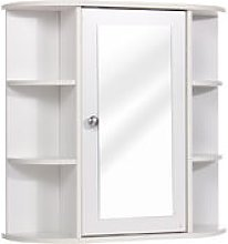 Mdf Bathroom Cabinet Furniture With Mirror Wall