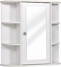 Mdf Bathroom Cabinet Furniture With Mirror Wall