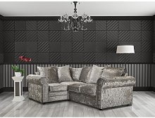 Mead Corner Sofa Rosdorf Park Upholstery Colour: