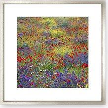 Meadow Wood Framed Print & Mount, 73 x 73cm,