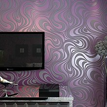 MEAIHOME Modern Abstract 3D Curve Non-Woven