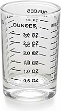 Measuring Cup Shot Glass 3 Ounce/90ML Liquid Heavy