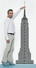 Measuring souvenir from New York Sticker - Height