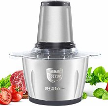 Meat Grinder, Food Processor with 2.0 L Glass Bowl