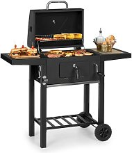Meat Machine Charcoal Grill 45x32.5cm Thermometer