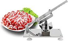 Meat Slicer, Adjustable Manual Food&Meat Slicer.