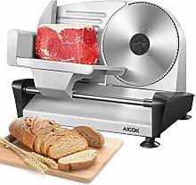 Meat Slicer, AICOK Electric Deli Food Slicer for