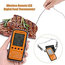 Meat Thermometer, Wireless Remote LCD Digital Food