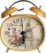 Mechanical Alarm Clock Wind-Up Alarm Clock Metal