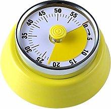 Mechanical Kitchen Timer Round Shape 60 Minutes