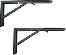 MechWares Folding Bracket for Shelves Tables Long
