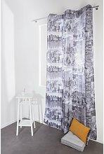 Meda Blackout Curtain Brayden Studio