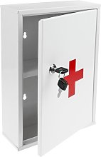 Medical cabinet. First aid metal wall cabinet 216