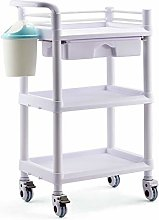Medical Cart 3 Tier Hospital Medical Utility Cart