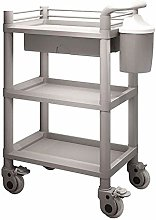 Medical Equipment Utility Cart with Handle 2/3