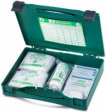 MEDICAL FIRST AID KIT BOXED - - Click
