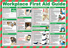 MEDICAL WORKPLACE FIRST AID POSTER A600 - - Click