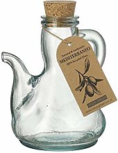Mediterraneo Catalan Olive Oil Bottle Clear Green